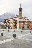 Italian village in Como Lake — Stock Photo