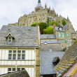 Mont saint Michel, Normandy, France — Stock Photo