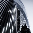 Stock Photo: LONDON - MAY 3: modern 30 St Mary Axe on May 3, 2012 in Lond
