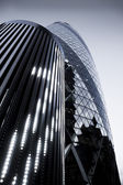 LONDON - MAY 3: The modern 30 St Mary Axe on May 3, 2012 in Lond — Stock Photo