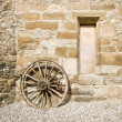 Ancient rural facade detail — Stock Photo #24854123