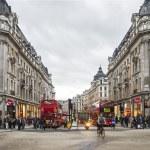 Oxford Street, shopping time — Stock Photo