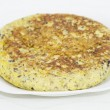 Stock Photo: Spanish omelet