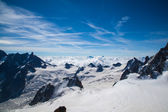Aiguille du Midi View — Stock Photo