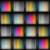 Abstracte vierkante achtergrond — Stockvector