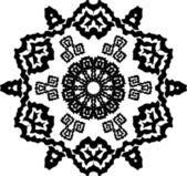 Abstrakte schneeflocke arabesque — Stockvektor