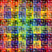 Colorful seamless pattern of spectrum colors — Stock vektor