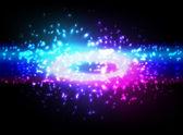 Explosão do espaço — Vetorial Stock