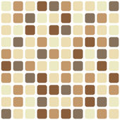 Chocolate mosaic seamless background — Cтоковый вектор