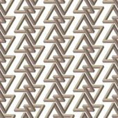 Seamless pattern with triangles — ストックベクタ