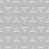 Seamless pattern with decorative triangles — ストックベクタ