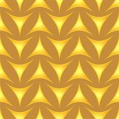 Seamless pattern with decorative triangles — Stock Vector