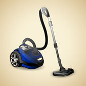 Vacuum cleaner — Vettoriale Stock