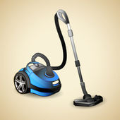 Vacuum cleaner — Vector de stock
