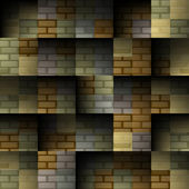 Abstract brick seamless background — ストックベクタ