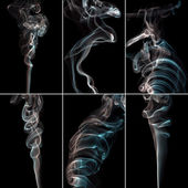 Smoke Collage — Stock Photo