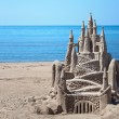 Stock Photo: Sand Castle Horizontal