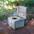 Wilderness Toilet — Stock Photo