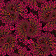 Abstract floral pattern. — Stock Photo