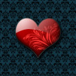 Stylized Valentines day heart — Photo