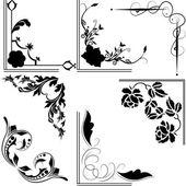 Design sieraden collectie. — Stockvector