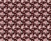 Bezešvé vzor s růžovými růžemi. — Stock vektor