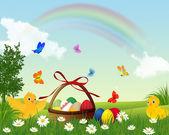 复活节快乐. — 图库矢量图片
