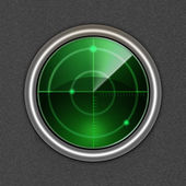 Radar icon. — Stockvektor