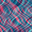 Abstract red an blue curves — Stock Photo