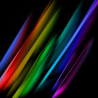 Oblique multicolored straight lines - Stock Photo