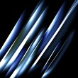 Stock Photo: Abstract blue straight lines