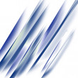 Straight blue lines in a downward angle — Stock Photo #13962952