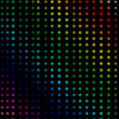Stock Photo: Multicolored dots forming lines