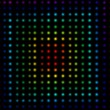 Stock Photo: Multicolored dots forming squares