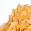 Nachos against white background - Foto de Stock