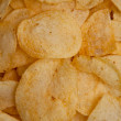 Chips laid out together - Stock Photo