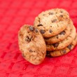 Five cookies laid out together — Stock Photo