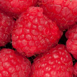 Stock Photo: Heap of raspberry