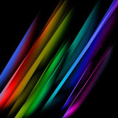 Oblique multicolored straight lines — Stock Photo