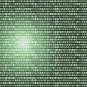Codice binario scritto — Foto Stock