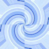 Blue curves forming spirals — Stock Photo