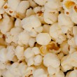 Horizontal close up on popcorn — 图库照片