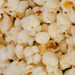 Horizontal close up on popcorn — Stock fotografie