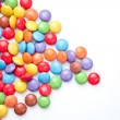 Heap of candies multi coloured — Stock Photo