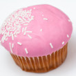 Royalty-Free Stock Photo: Pink cupcake