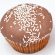 Brown cupcake — Stock Photo