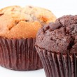 Stock Photo: Close up of two muffins