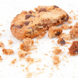 Cookie with a big part missing — Stock Photo #13974382