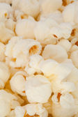 Many blurred pop corn — Stock Photo