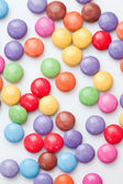 Chocolate candies multi coloured — Stock Photo
